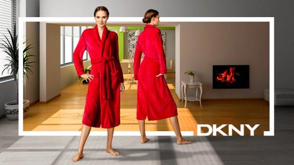 Nur heute: Damen DKNY Bademantel für 38€ @ vente-privee