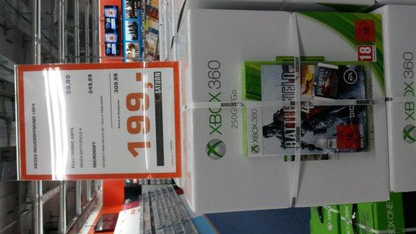 [Lokal Saturn Hannover] XBOX360 Tomb Raider+Halo4+BF4 Bundle