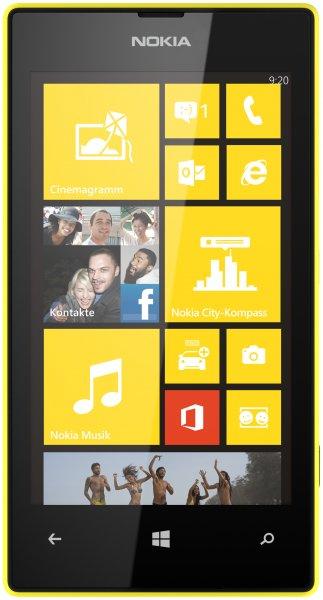 Nokia Lumia 520 (verschiedene Farben) für 130€ inkl. Versand und 2x20€ Store-Guthaben