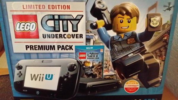 (LOKAL) ToysRUs Bad Dürrheim Wii U Premium Pack Lego City Undercover Limited Edition