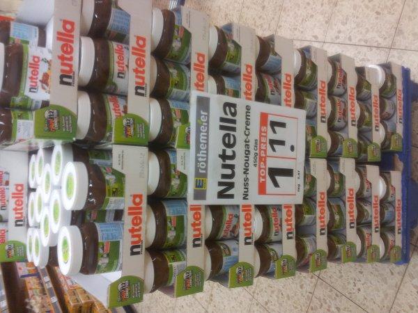 [Lokal Minden] 450g Nutella für €1,11