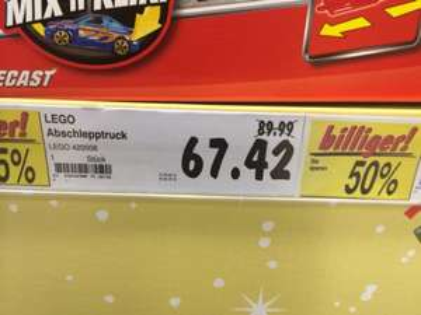 Lego 42008 Abschlepptruck