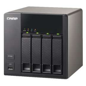 QNAP Systems TS-420  Turbo NAS 4-Bay @ notebooksbilliger.de