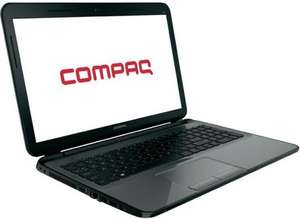 "HP Compaq 15-h023 Note­book 39.6 cm (15.6"") Grau AMD E1-2100 Dual Core (2x 1 GHz) bei hp.com"