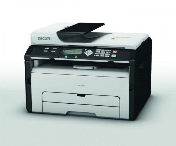[www.365tageoffen.de] RICOH Aficio SP 204SF Multifunktions-Mono-Laserdrucker