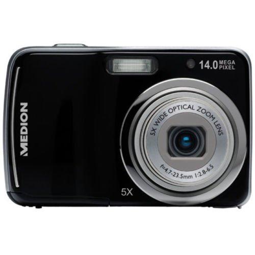 Einfach-Digitalkamera: Medion E43005, 14 MP, 5x opt. Zoom für 34,99€ @eBay