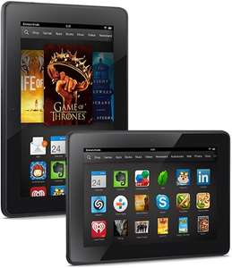 Amazon - Kindle Fire HDX (7 Zoll Tablet, 16 GB, WLAN) für 189 Euro
