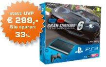 "PS3 500GB + Gran Turismo 6 ""Saturn Österreich"""