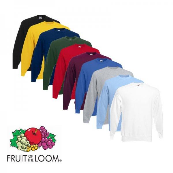 Fruit of the Loom - Sweatshirt für 5,55 € + 5,95 Versand bei sim-buy.de