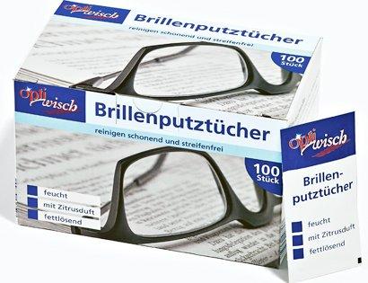 [ALDI SÜD] 100 Brillenputztücher für 1,79 €