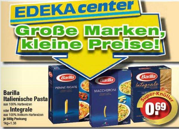 [Edeka] Barilla italienische Pasta oder Integrale für 0,69 Euro