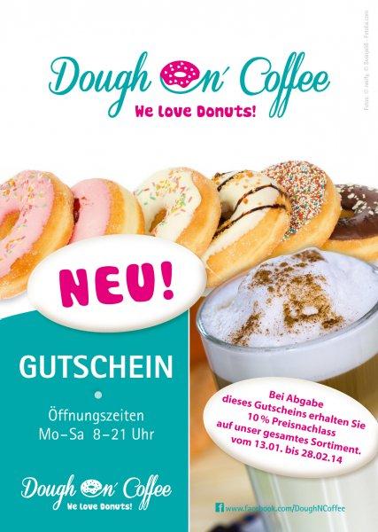 Donuts in Dresden [lokal] 10% Rabatt auf alles.