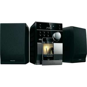 Kompaktanlage Philips DCM1130, 2x5W, CD, iPod-Dock, USB für 66€ Conrad via eBay