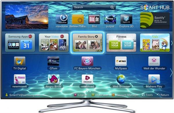 Samsung UE55F6500 888€ mediamarkt Worms