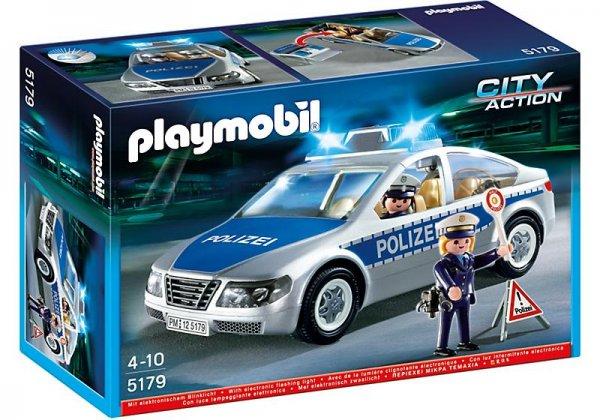 Playmobil 5179 Polizeifahrzeug mit Blinklicht @Metro