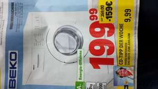 [Marktkauf] Beko Waschmaschine WML 51211 EL+ oder Hansi Hinterseer - Jubiläums CD