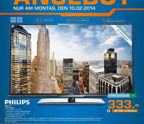 Philips 40PFL3208K für 333€ Lokal [Saturn Siegen]