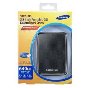 Samsung S2 portable 640GB externe Festplatte (6,3 cm (2,5 Zoll), 7200rpm, USB 3.0)