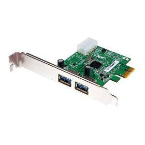 Transcend USB 3.0 Schnittstellenkarte/Adapter PCIe (2 Ports)