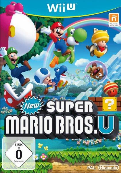 Nintendo New Super Mario Bros. für WiiU/ Just Dance 4 Mindstar