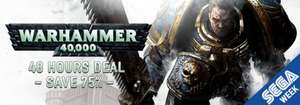 SEGA-Deals @ gamersgate, z.B. The Cave für 3,00€, Dawn of War 2 für 2,50€