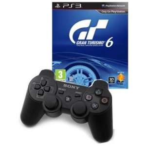 Gran Turismo 6 + DualShock 3 Wireless Controller PlayStation 3 [MEDIA MARKT] Online für 59€