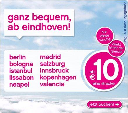 [AM-EX] Von Eindhoven nach Istanbul, Salzburg, Madrid..... mit American Express GRATIS