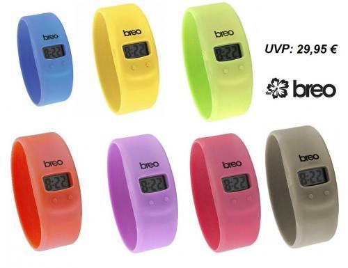 Breo Skin Sport Armbanduhren in verschiedenen Farben für 11,85€