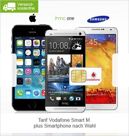 Vodafone Smart M mit Smartphone