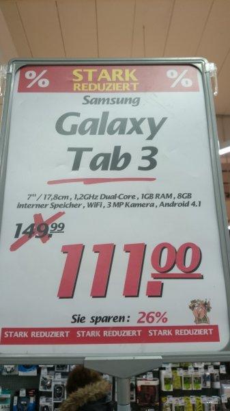 [Lokal Voerde] Samsung Galaxy Tab 3 (7 Zoll, WiFi, weiss) bei Marktkauf in Voerde