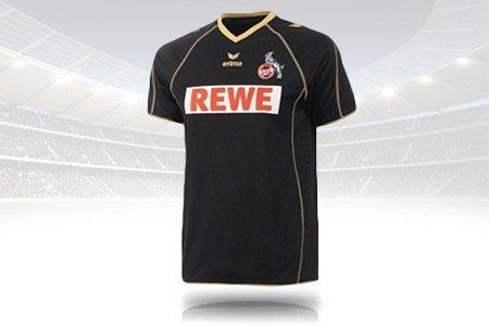 Schwarz-goldenes Original erima 1. FC Köln Eventtrikot 2012/13 für Erwachsene und Kids ab 19,99 €