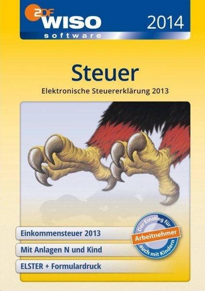 WISO Steuer 2014 Download (abgespeckte Version für Steuererklärung 2013) @Amazon