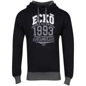 (UK) Ecko Men's Filler Time Hooded Sweatshirt in Schwarz für 18,14€ @ Zavvi