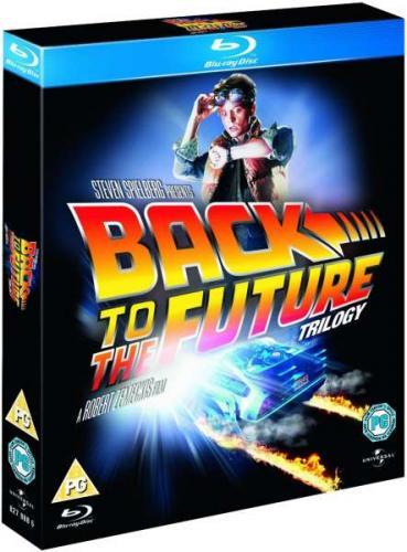 Zurück in die Zukunft Blu-ray-Trilogie für ~17,88 inkl. Versand @zavvi