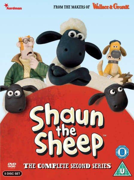 """Staffel 2 von """"Shaun das Schaf"""" (5 DVDs) bei Zavvi.com"""