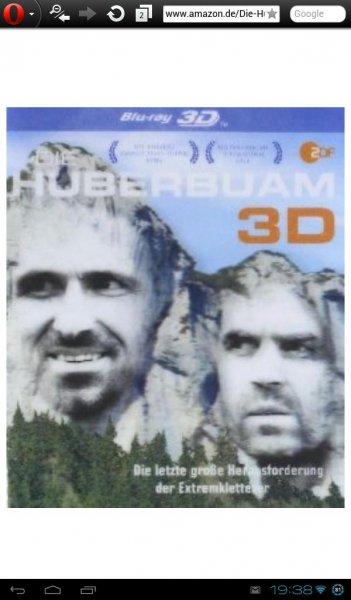 """3D Bluray  """"Die Huberbuam 3D"""" Dokuportrait  Amazon Prime  5€ (ZDF Mediathek  kostenlos!) + weitere Blurays zu 5€"""