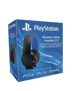 Sony Wireless Stereo Headset 2.0, 7.1 Virtual Surround Sound PS4/PS3/Vita/PC Gaming Headset für 79,95€