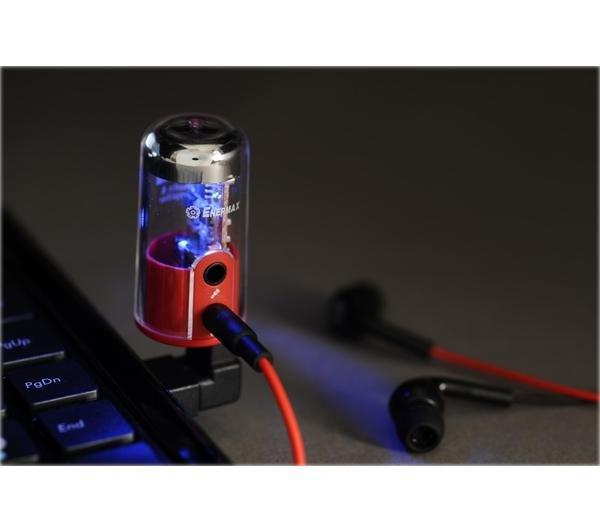 Enermax DreamBass Genie externer USB-Audio-Verstärker für 15€ @Pixmania