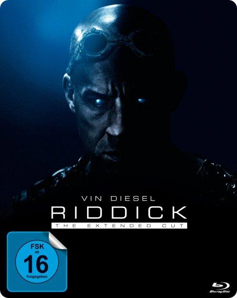 [Müller] Riddick - Überleben ist seine Rache (Extended Cut) (Blu-ray) (Exklusives Steelbook)