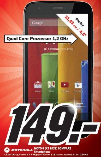 [lokal Göttingen] [MM] Motorola Moto G 8 GB (XT 1032) für 149,-