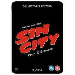 Sin City: Re-Cut And Extended - Collector's Edition Steelbook [2 DVDs] für 6.49€ @ play.com