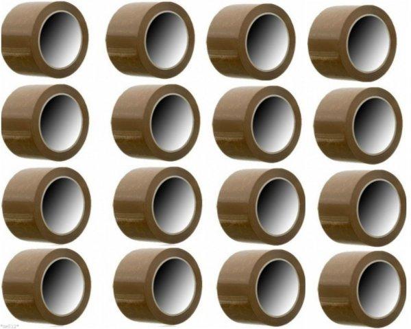 [Ebay] 36 Rollen Packband Paketband Klebeband braun