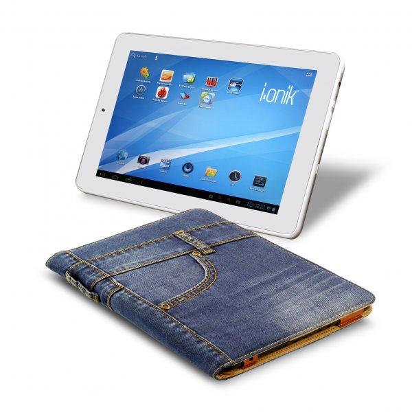 Tablet PC TP9.7-1200QC ULTRA inkl. Jeans Case im Bundle