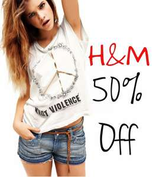 H&M 50% auf bestimmte Artikel bis zum 16.02.2014