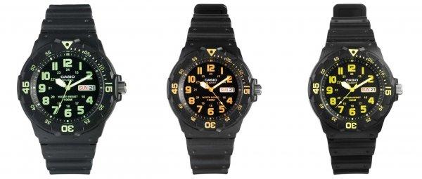 """Casio™ - Herren-Armbanduhr """"MRW-200H"""" (drei Farbvarianten) für €15,51 [@Asos.de]"""