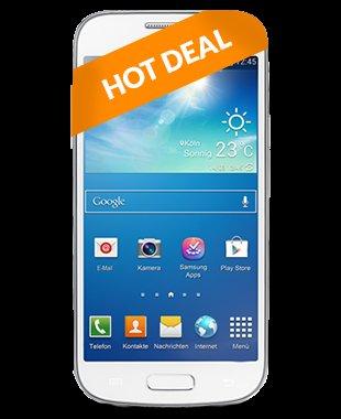 Samsung Galaxy S4 Mini, inkl Allnet Flat und 300 MB/Flat , 24 Monate je19,99€ original O2