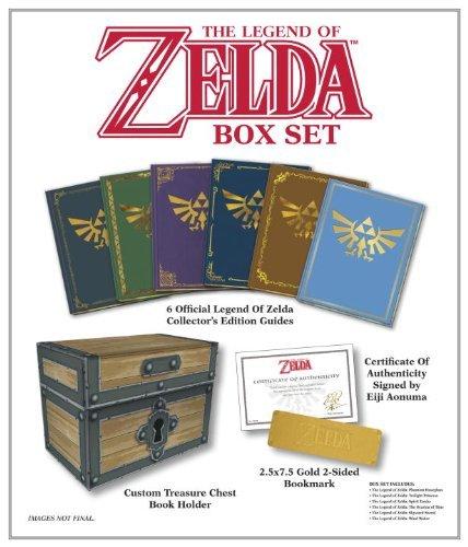 The Legend of Zelda Box Set: Prima Official Game Guide bei Amazon - Für Sammler