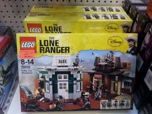 [ LOKAL ] BERLIN ( Toysrus Reinickendorf ) Lego 79109 Lone Ranger, Duell in colby City!