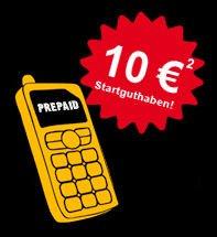 Congstar Prepaid Karte mit 10 Euro SGH für 2 Euro @ebay