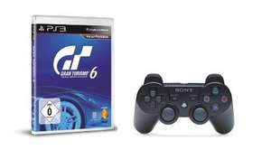 Gran Turismo 6 + DualShock 3 Wireless Controller für PlayStation 3 für 59€ @ Amazon